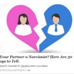 Narcissist checklist
